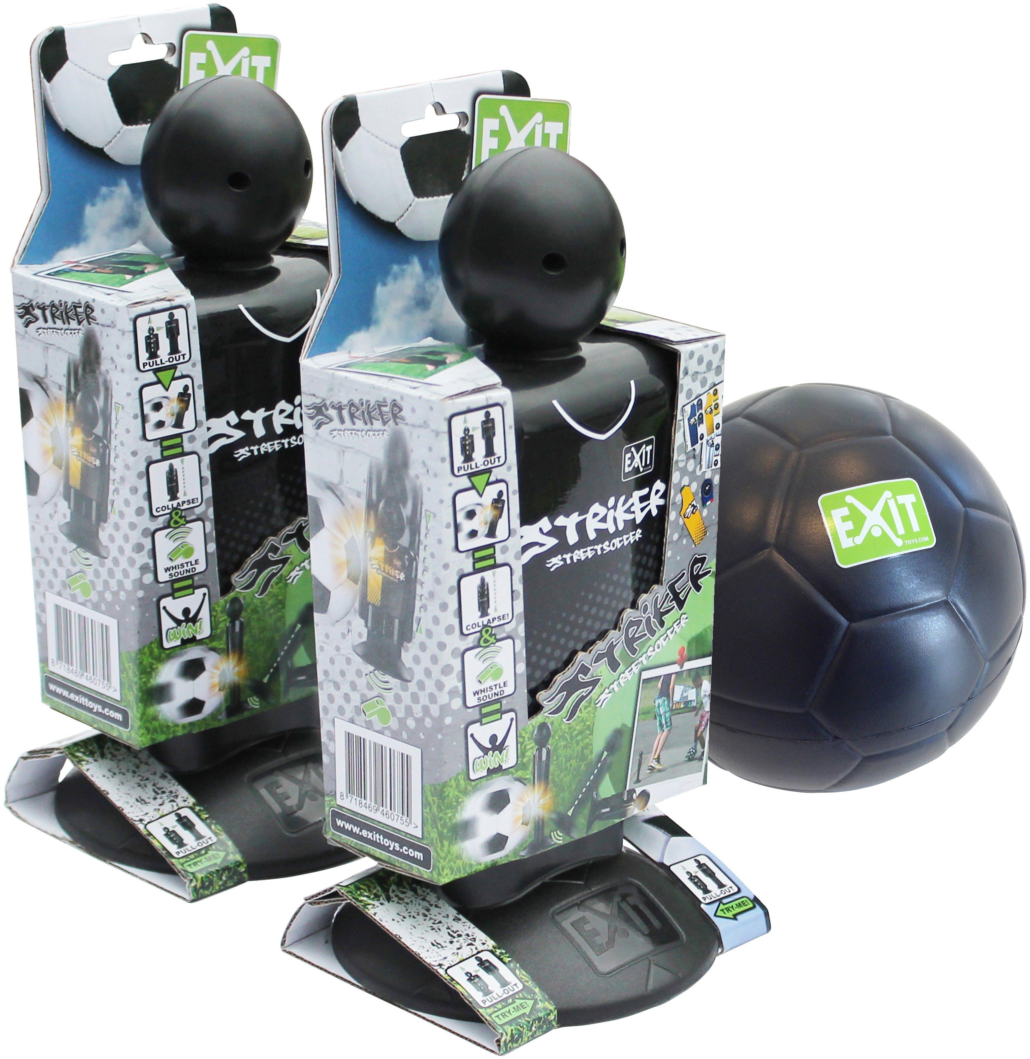 EXIT Streetsoccer »Striker«, 2 Stück mit Mini-Schaumball