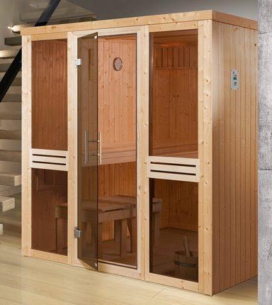 WEKA Sauna »Kaarina 2«, 177x194x199 cm, ohne Ofen