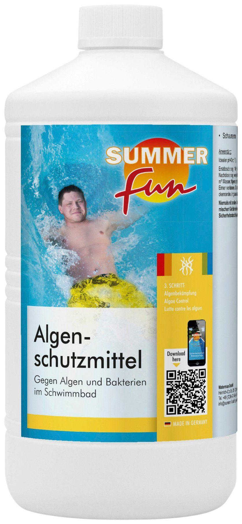 SUMMER FUN Wasserpflege »Algenschutzmittel schaumarm«, 1 l
