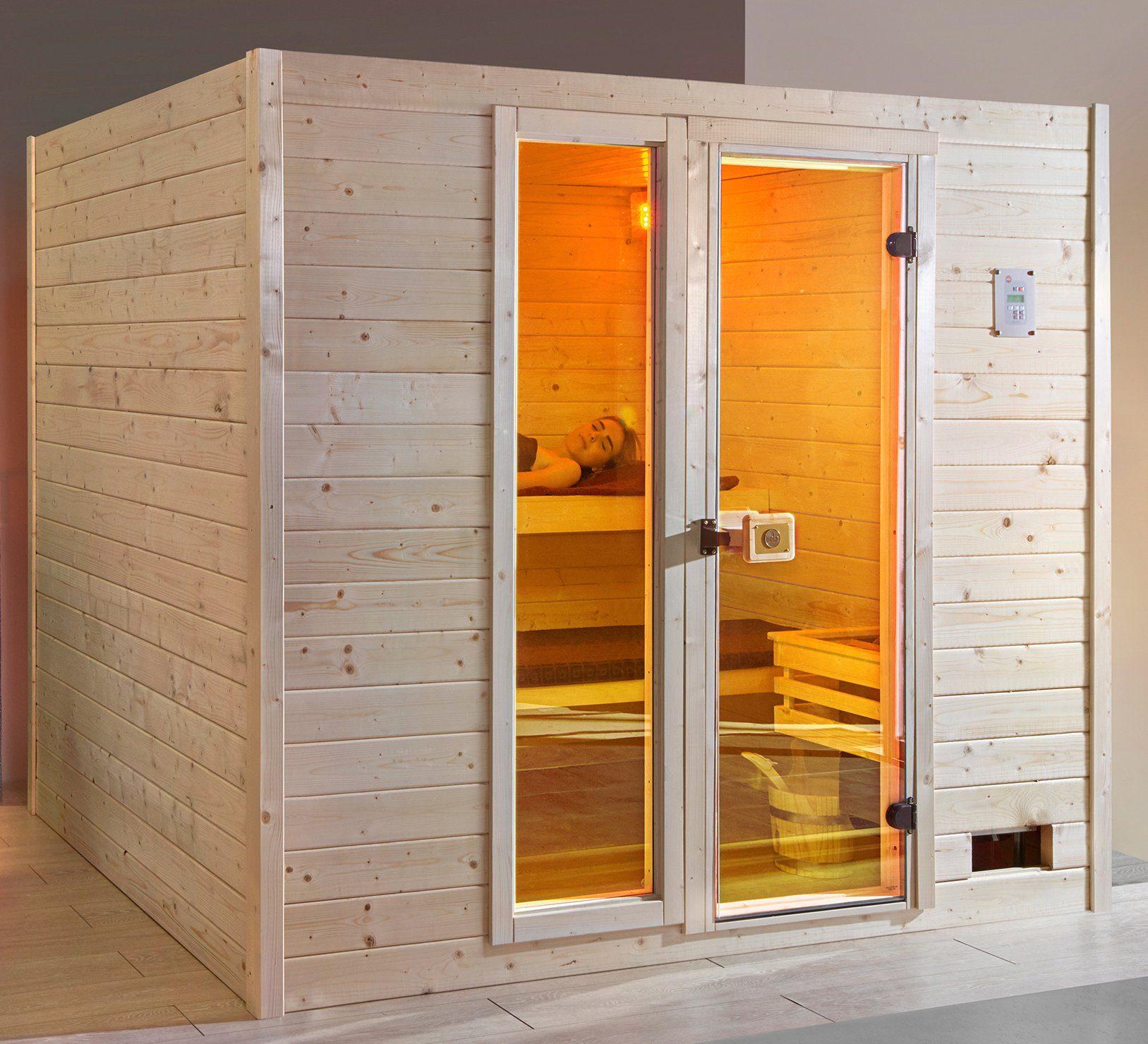 WEKA Sauna »Valida Gr.4«, 239x189x204 cm, ohne Ofen, mit Fenster