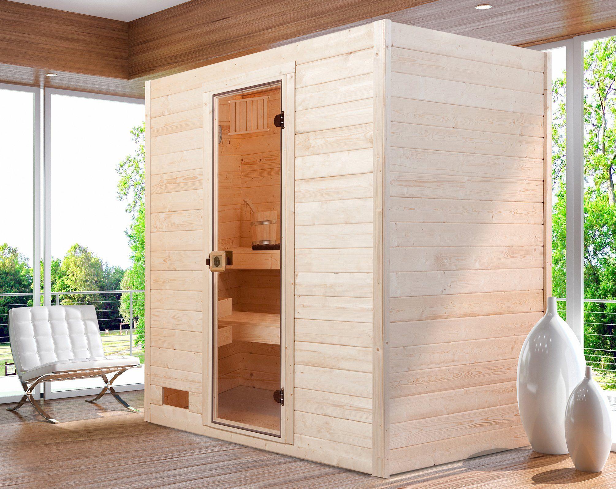 WEKA Sauna »Valida Gr.2«, 189x139x204 cm, ohne Ofen
