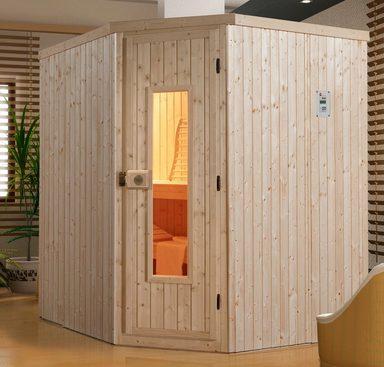 WEKA Sauna »Kiruna«, 194x177x199 cm, ohne Ofen