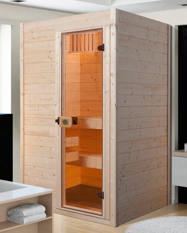 weka Sauna »Valida Gr.1«, 139x139x204 cm, ohne Ofen