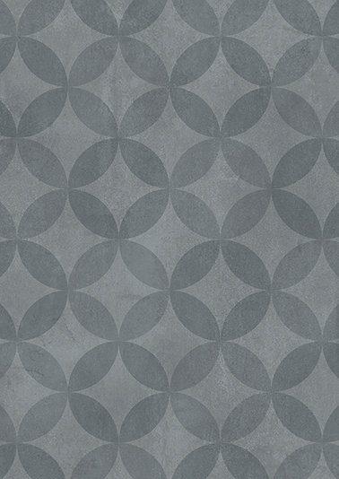 ANDIAMO Vinyl-Boden »Kura«, Beton-Optik Blau, Breite 400 cm