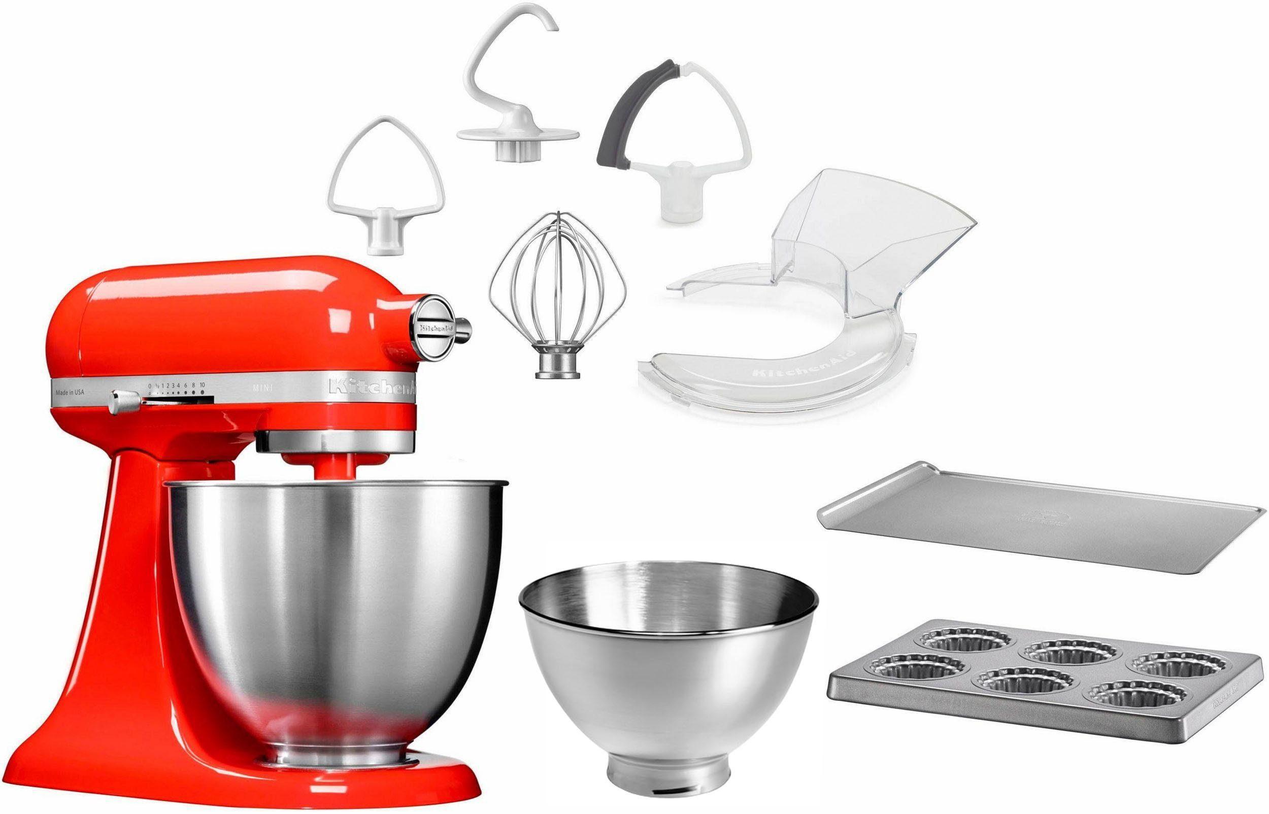 KitchenAid Küchenmaschine Mini 5KSM3311XEHT, 250 W, 3,3 l Schüssel, mit Sonderzubehör im Wert von 246,-€ UVP