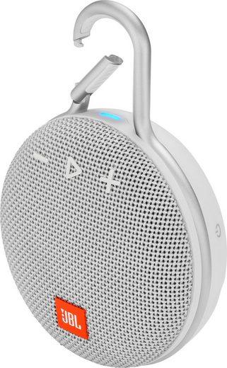 JBL CLIP 3 ein Portable-Lautsprecher (Bluetooth, 3 W)