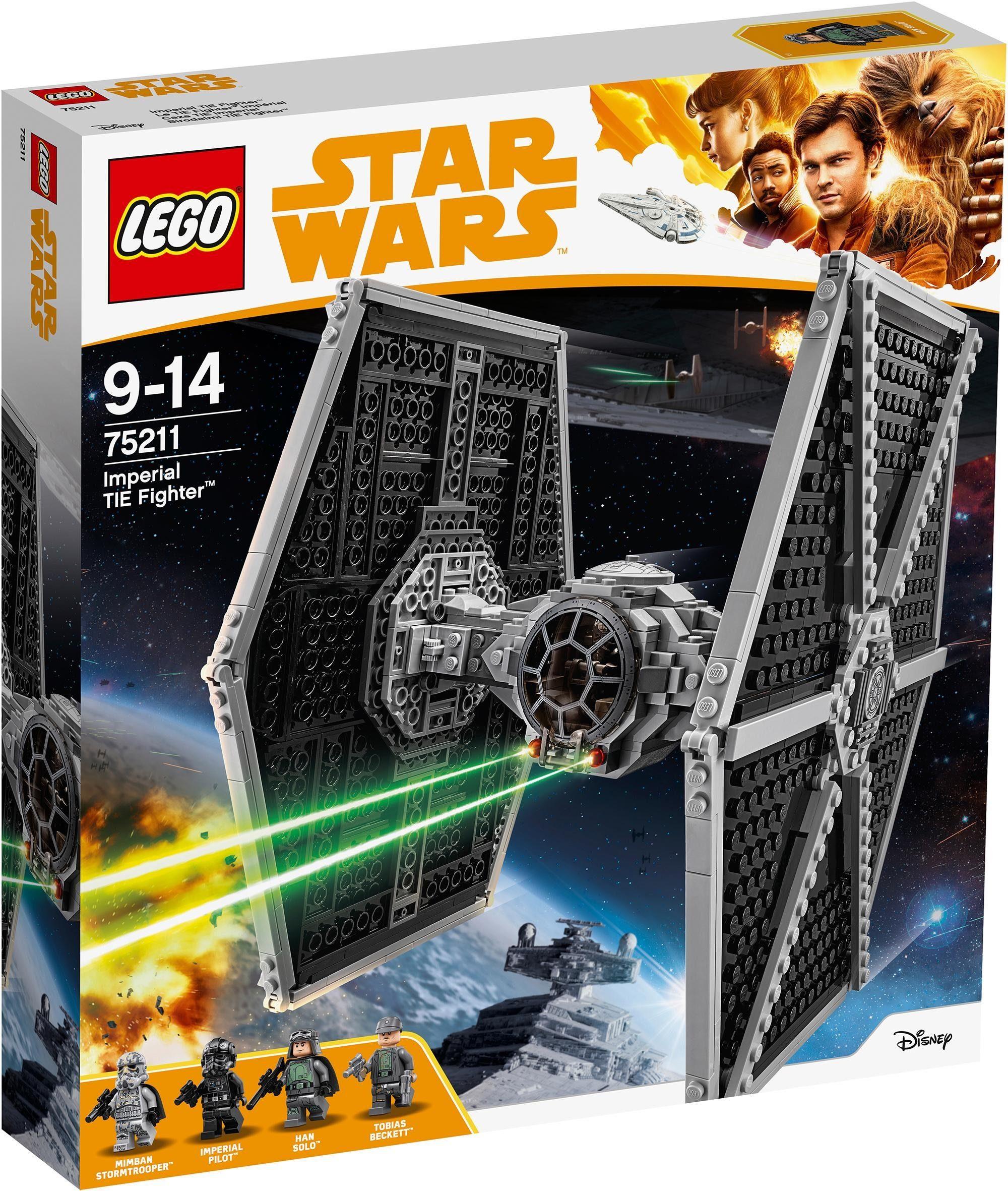 LEGO® Konstruktionsspielsteine »Imperial TIE Fighter™ (75211), LEGO® Star Wars™«, (519 tlg)