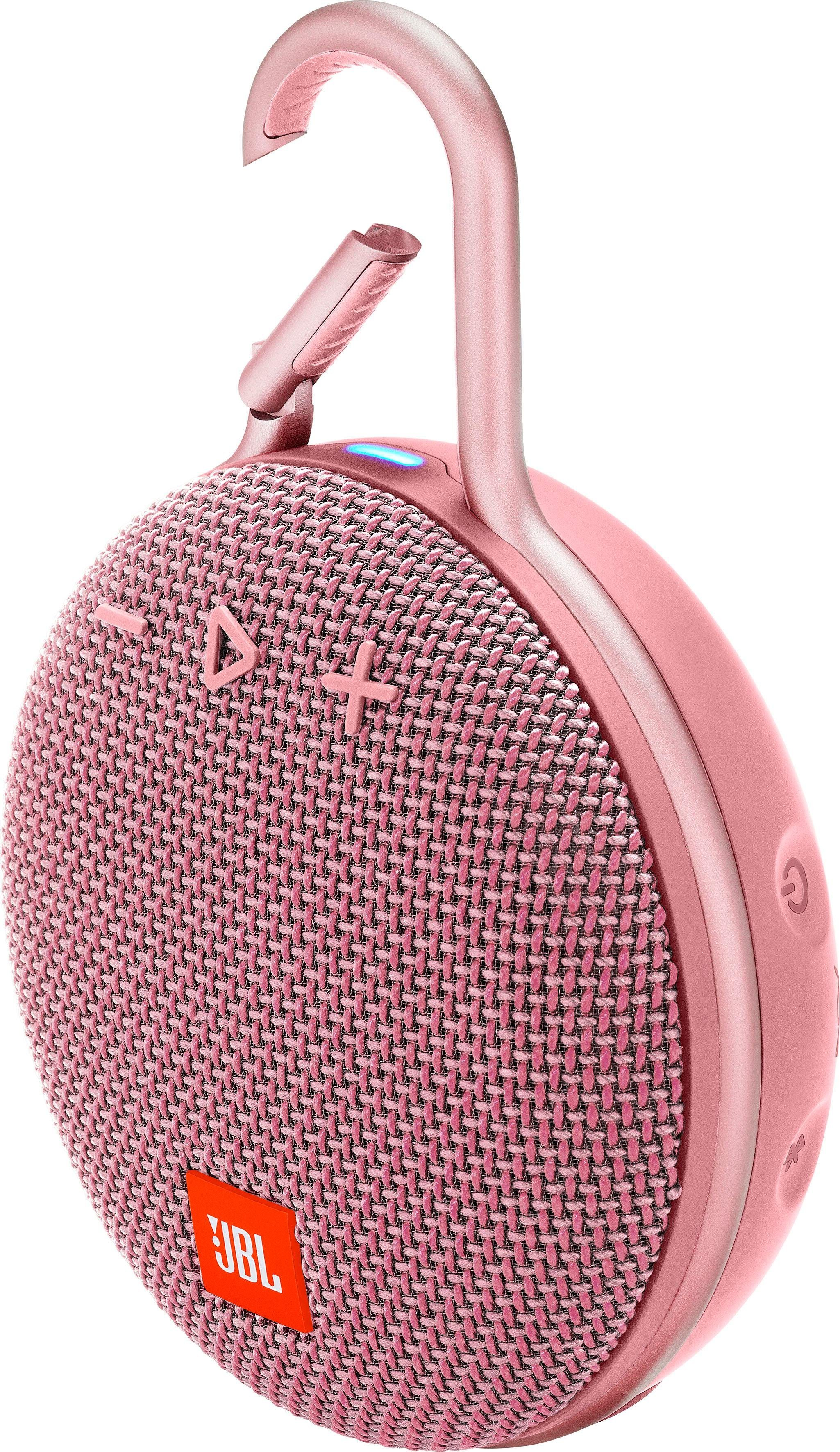 CLIP 3 Portable-Lautsprecher (Bluetooth, Freisprechfunktion, Mikrofon, 3 W)