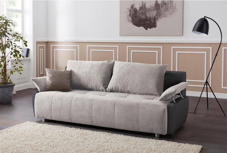 collection ab schlafsofa inklusive bettkasten otto. Black Bedroom Furniture Sets. Home Design Ideas