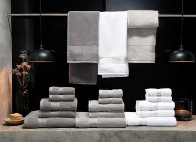 Handtuch »Finley«, Guido Maria Kretschmer Home&Living, mit edler Glanz-Bordüre