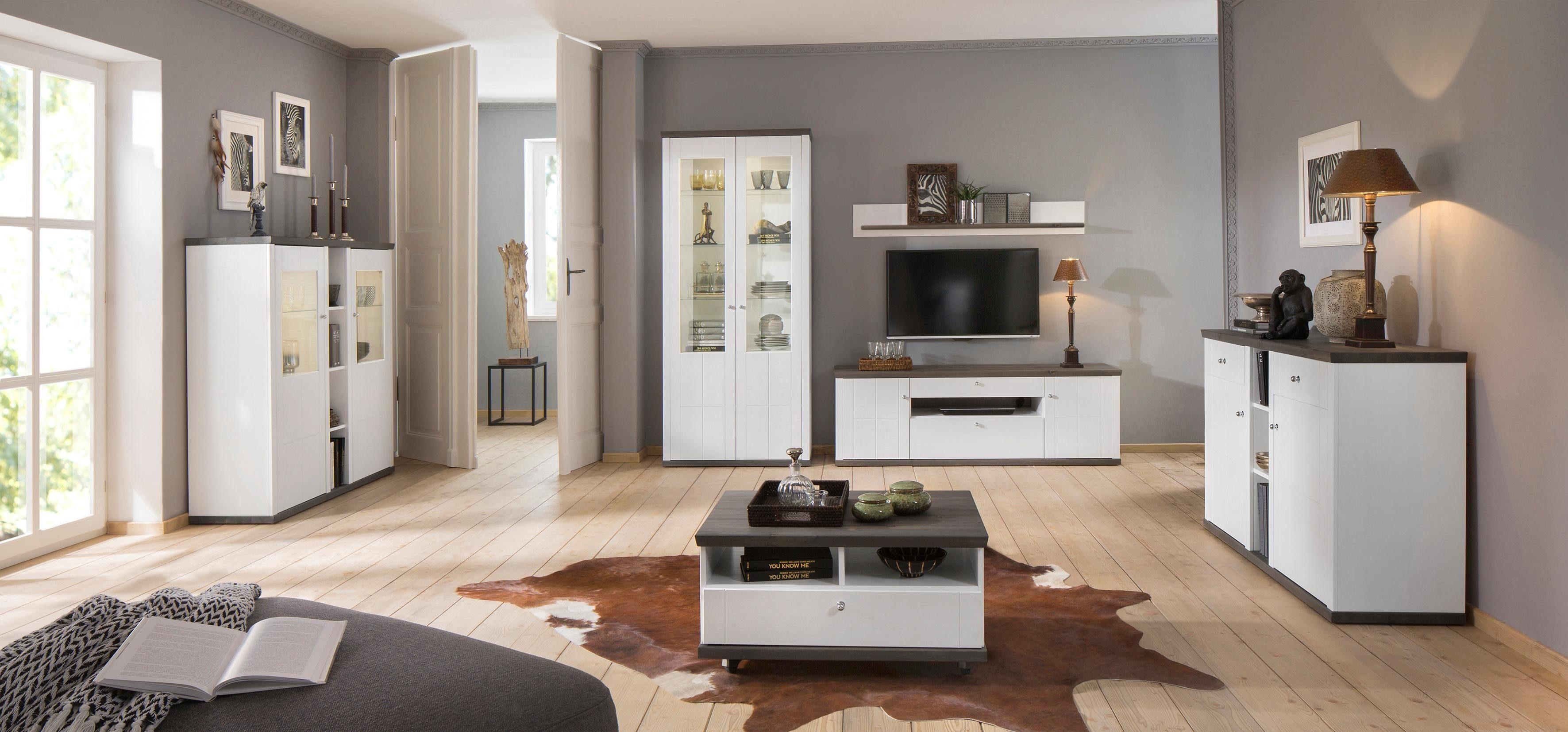 Premium Collection by Home affaire Sideboard »Delice« im Landhausstil, mit Soft-Close Funktion, Breite 132 cm