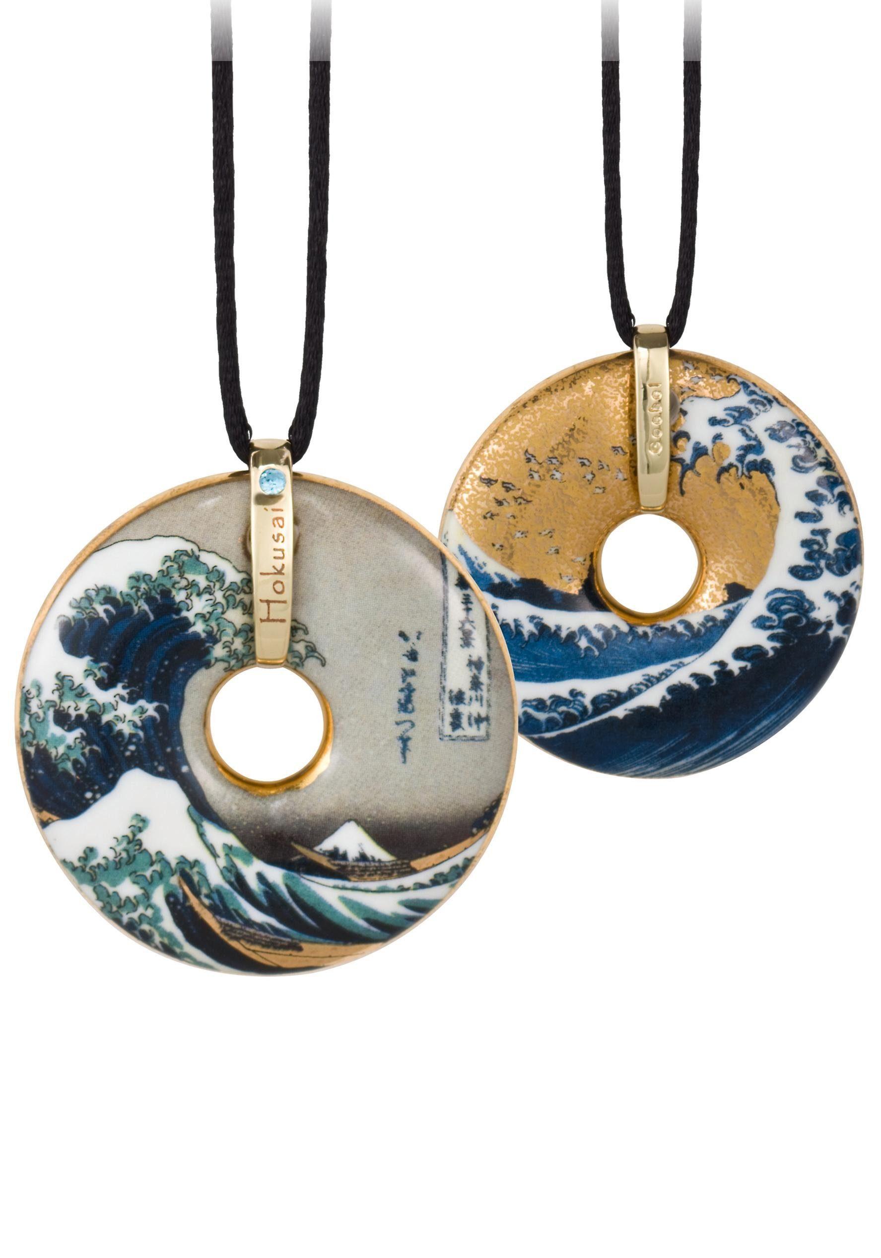 Goebel Kette mit Anhänger »The Wave, 66989948« mit Swarovski® Kristall