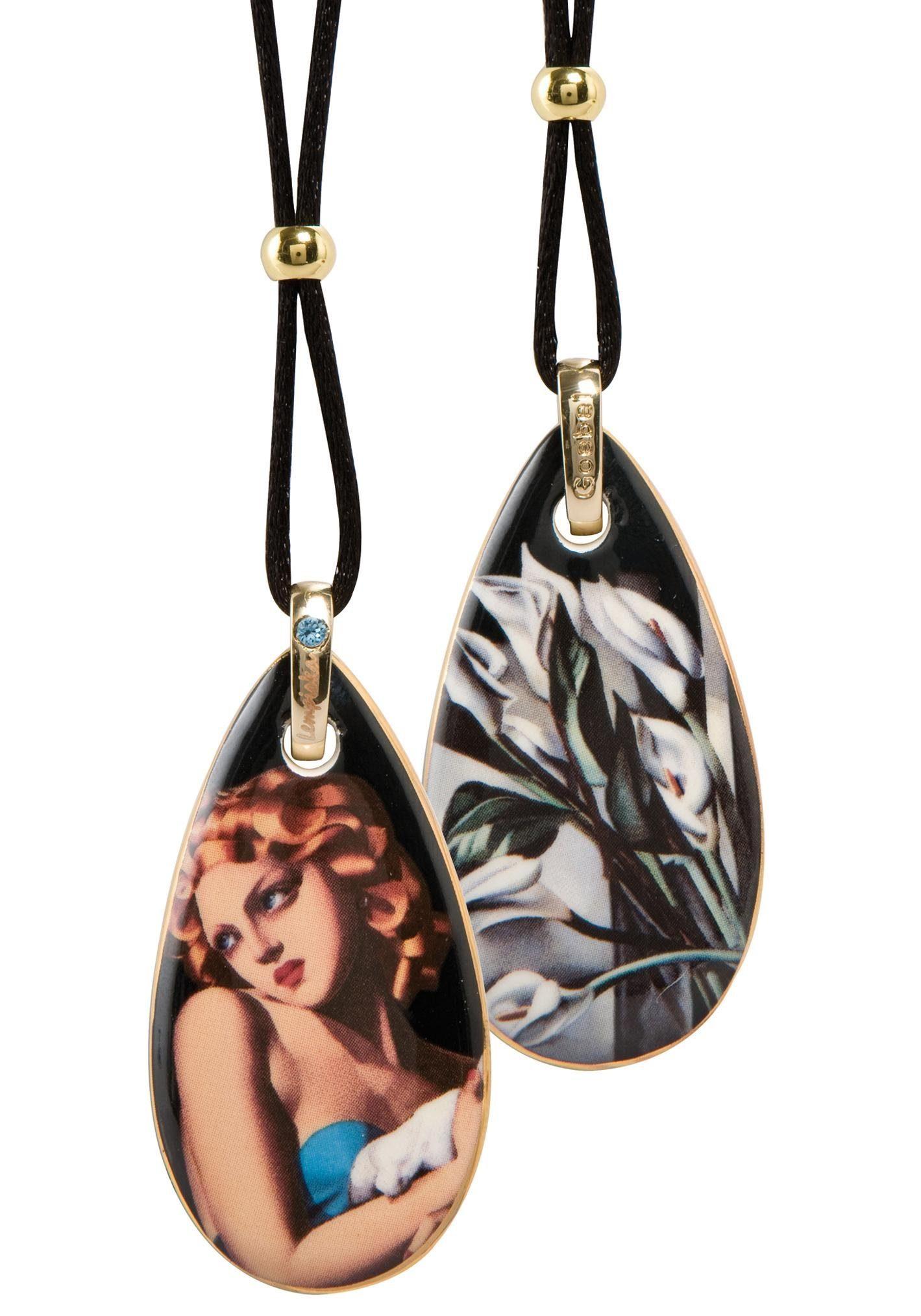 Goebel Kette mit Anhänger »Woman with Dove, 67070111«, mit Swarovski® Kristall