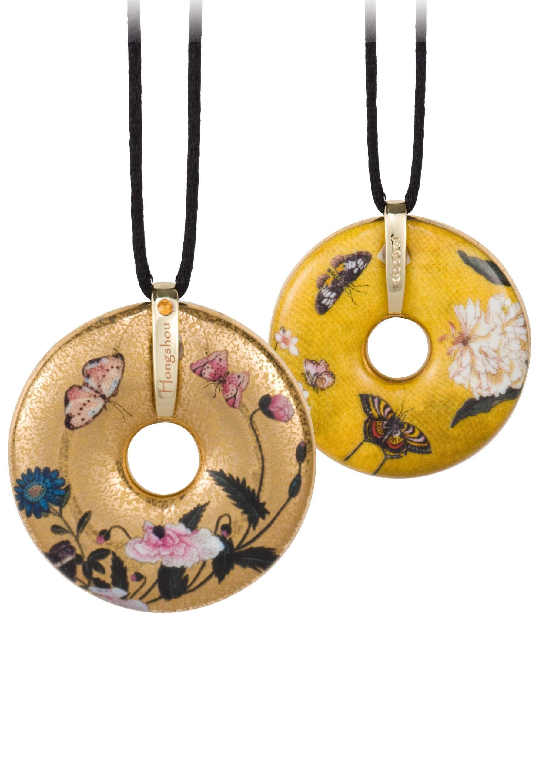 Goebel Kette mit Anhänger »Butterflies, 66989971« mit Swarovski® Kristall