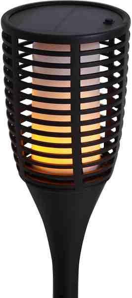 näve LED Gartenleuchte »FACKEL«, 1-flammig, Flammeneffekt