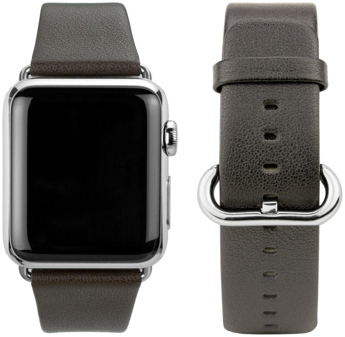 CASEual Armband »Leather Band für Apple Watch 38mm,«