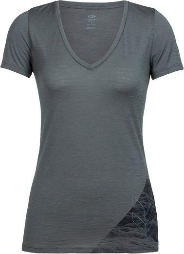 Icebreaker T-Shirt »Tech Lite Highlands SS V Shirt Women«