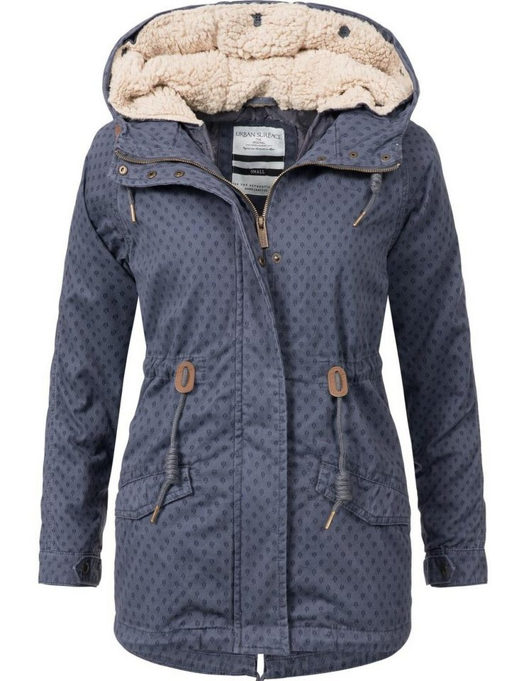 bfae4346ea9580 Urban Surface Outdoorjacke »44363« stylische 2in1 Übergangsjacke mit Kapuze