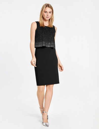 Off-Shoulder-Kleid aus Spitze Schwarz Damen Taifun Ckl8c7FAc