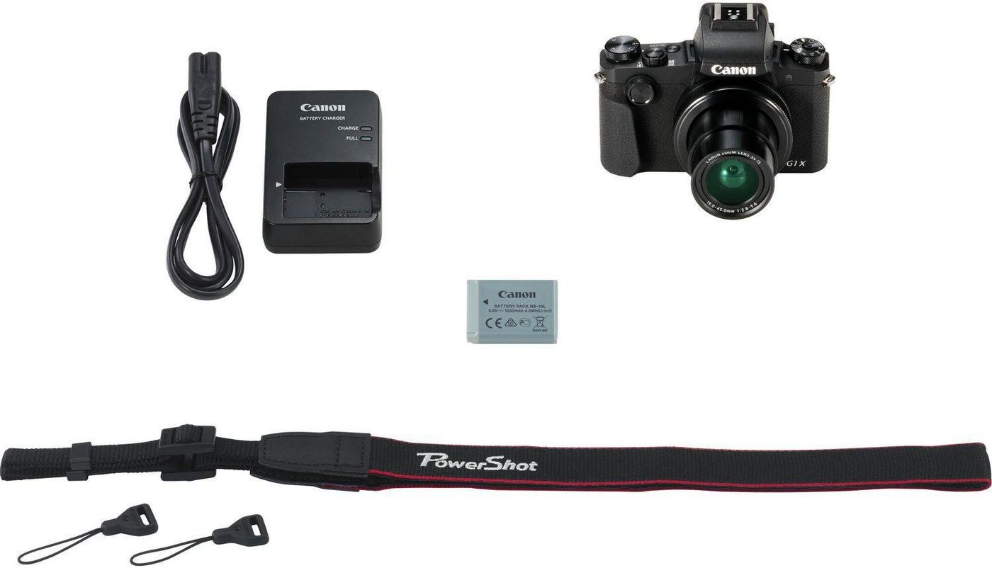 Digitalkameras - Canon »POWERSHOT G1 X MARK III EU26« Kompaktkamera (15 45 mm, 1 2,8 1 5,6, 24,2 MP, WLAN (Wi Fi), Bluetooth)  - Onlineshop OTTO