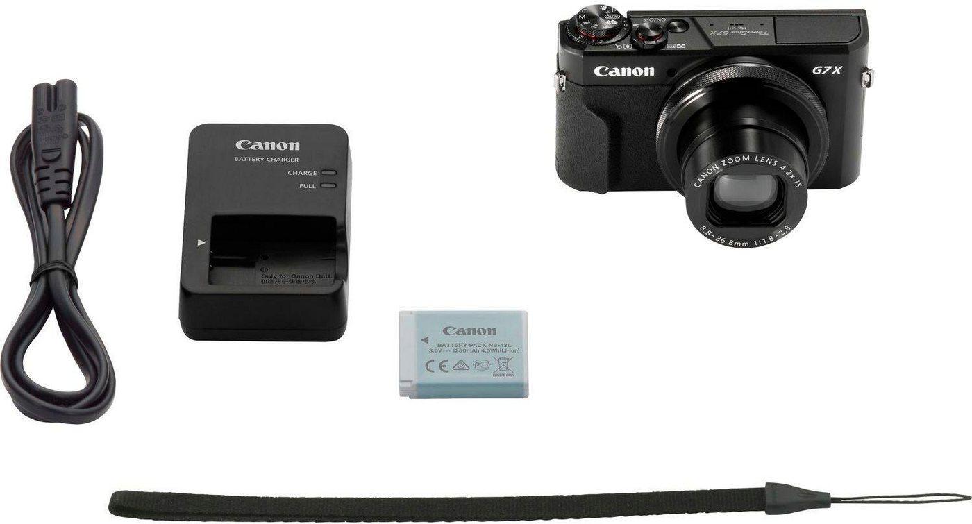 Digitalkameras - Canon »POWERSHOT G7 X MARK II EU23« Kompaktkamera (20,1 MP, 4,2x opt. Zoom, WLAN (Wi Fi), NFC)  - Onlineshop OTTO