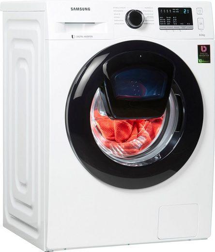 Samsung Waschmaschine WW4500T WW8EK44205W, 8 kg, 1400 U/Min, AddWash