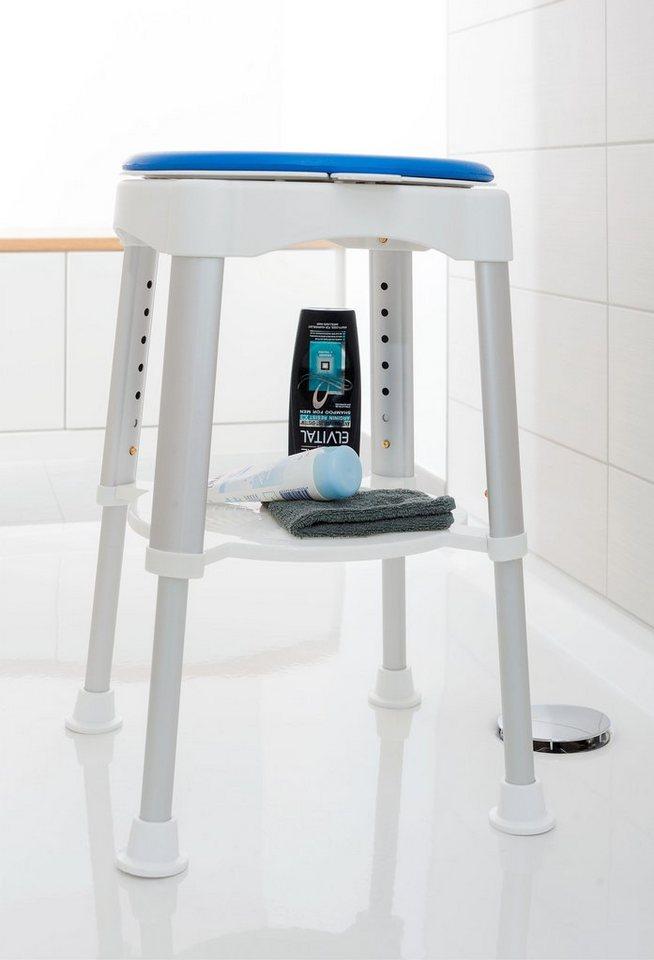 maximex badhocker 92836 belastbar bis 150 kg 360 grad drehbare sitzfl che online kaufen otto. Black Bedroom Furniture Sets. Home Design Ideas