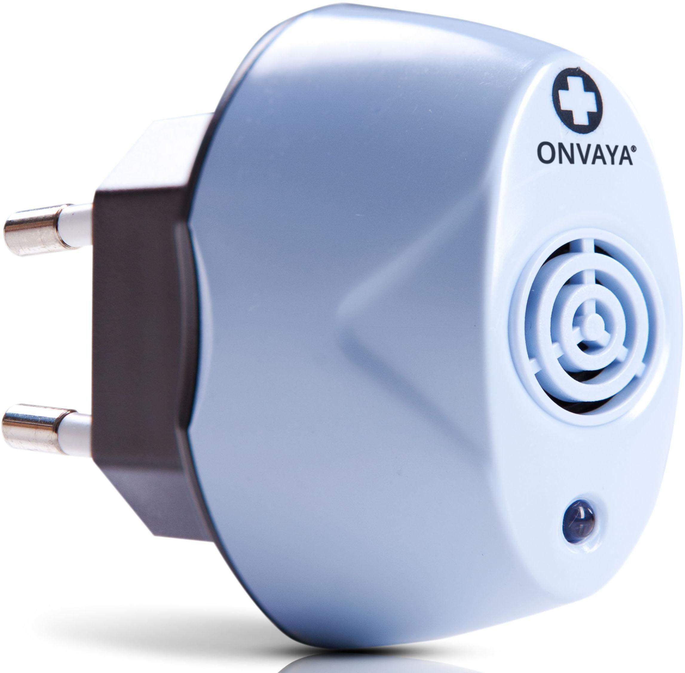 Maximex Ultraschall-Milbencontroller 93413, Ungefährlich für Mensch und Haustier, unsichtbar, ohne Chemie