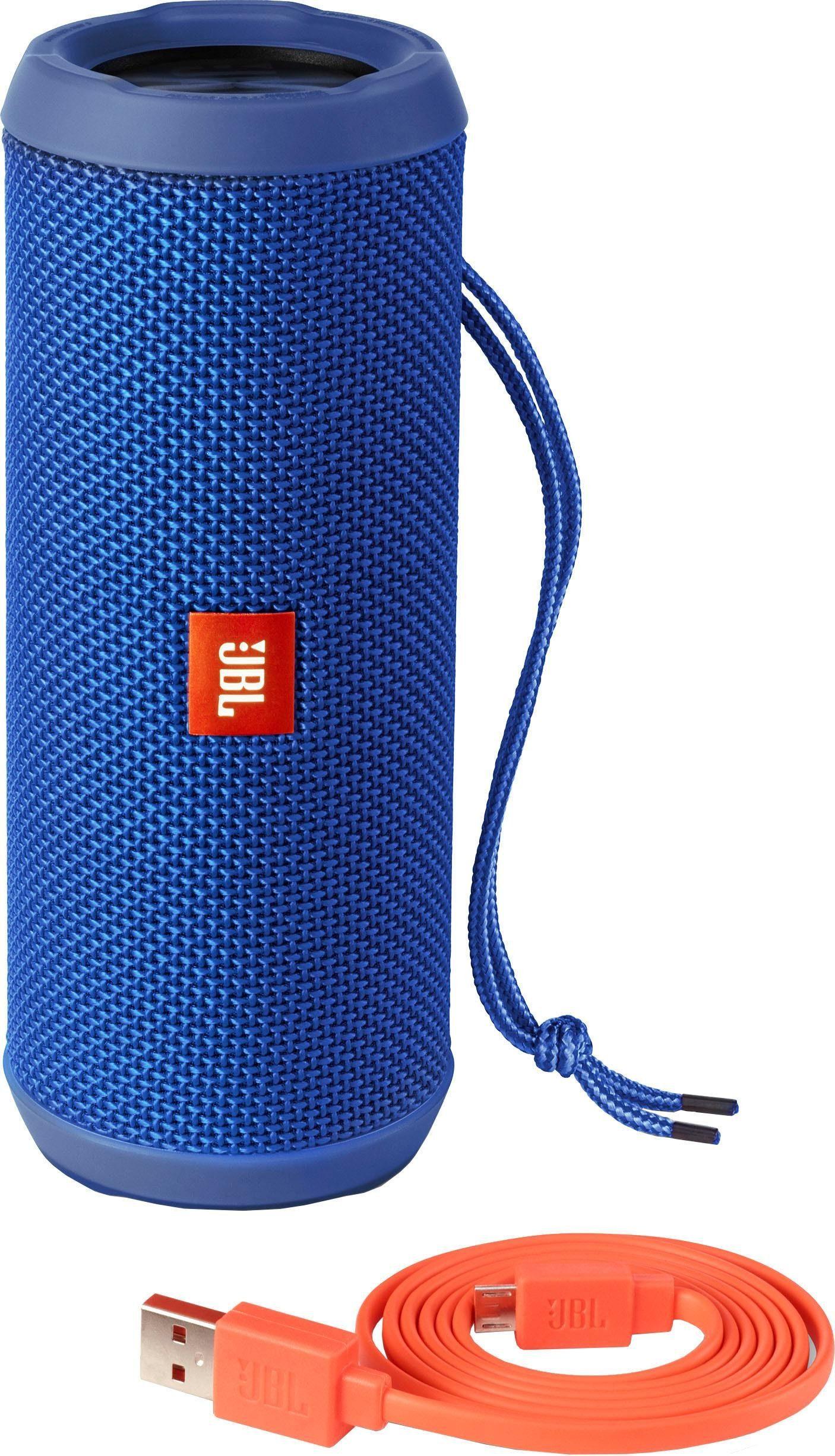 JBL Flip 3 Portable-Lautsprecher (Bluetooth, Freisprechfunktion, Sprachsteuerung, 16 W)