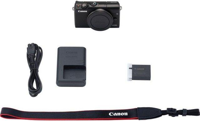 Systemkameras - Canon »EOS M100BODY EU26« Systemkamera Body (24,2 MP, NFC, WLAN (Wi Fi), Bluetooth)  - Onlineshop OTTO