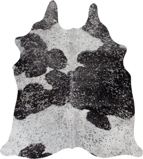 Fellteppich »Rinderfell Deluxe«, LUXOR living, fellförmig, Höhe 4 mm, echtes Rinderfell