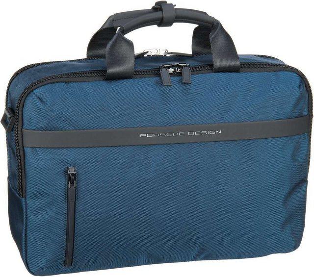 Damen PORSCHE Design Aktentasche Cargon CP BriefBag MHZ blau | 04053533589067
