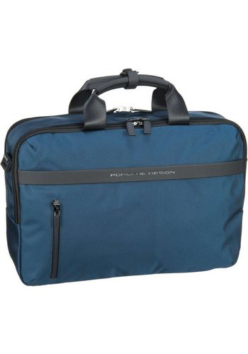 Damen PORSCHE Design Aktentasche Cargon CP BriefBag MHZ blau | 04053533589067