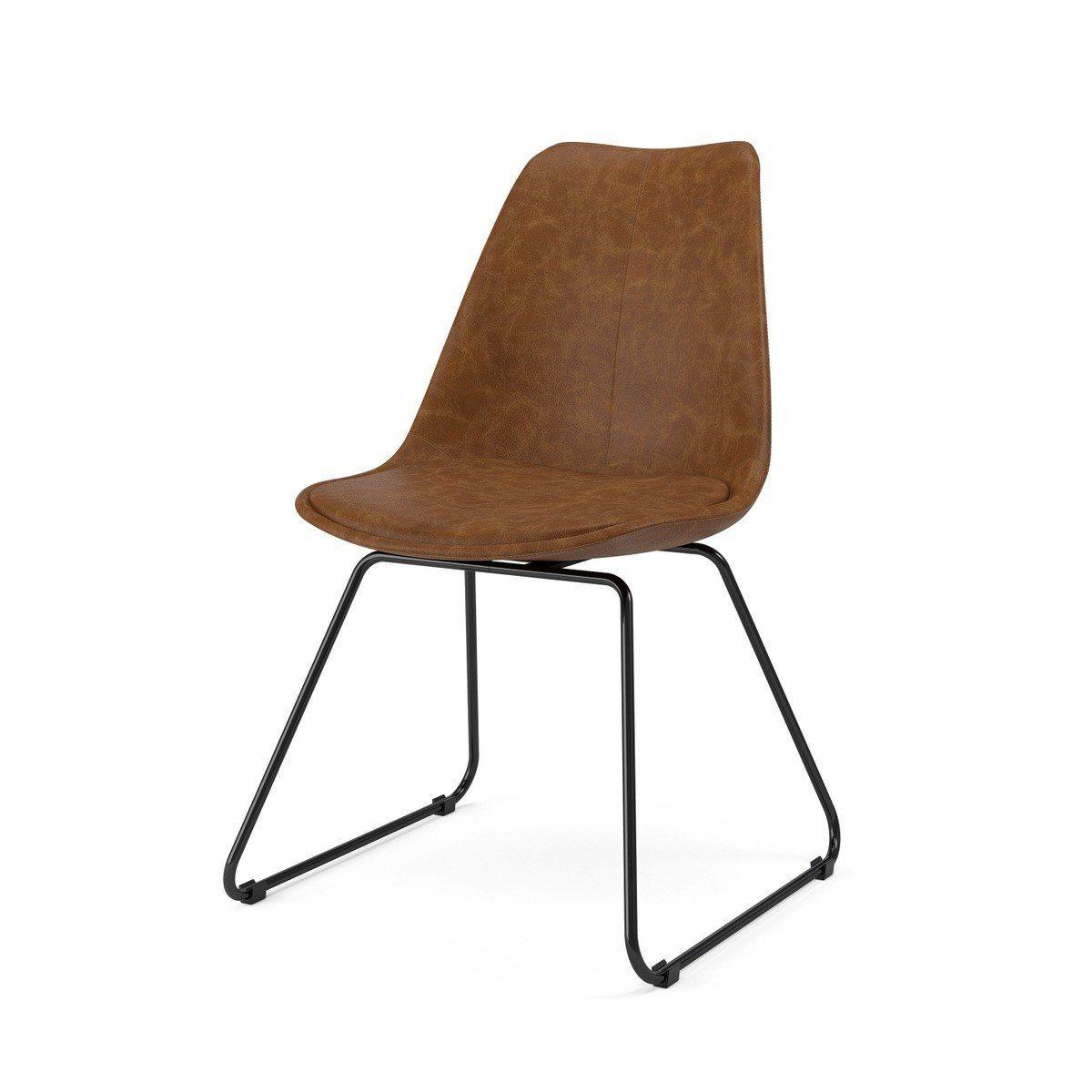 stuhl braun perfect stuhl braun gepolstert in farben stuhl mit ring stuhl with stuhl braun. Black Bedroom Furniture Sets. Home Design Ideas