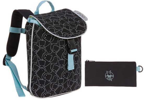Lässig Kinderrucksack »4Kids Mini Duffle Backpack, Spooky Black«