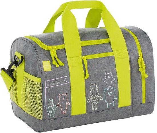 Lässig Sporttasche »4Kids Mini Sportsbag, About Friends Mélange Grey«