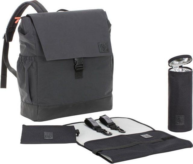 Wickelmöbel und Zubehör - Lässig Wickelrucksack »Vintage Little One Me Backpack Reflective Big, Black«  - Onlineshop OTTO