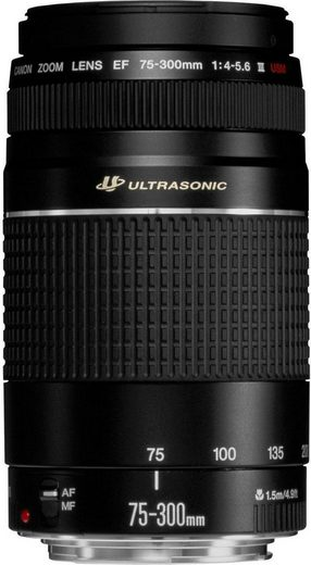 Canon »EF75-300MM F4-5.6 III USM« Zoomobjektiv