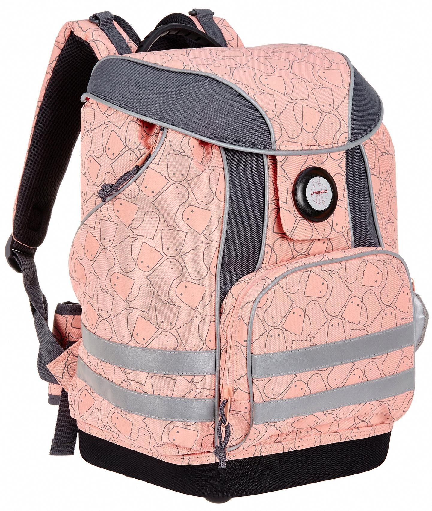 Lässig Schulrucksack, »4Kids School Bag, Spooky Peach«