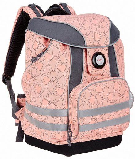 Lässig Schulrucksack »4Kids School Bag, Spooky Peach«