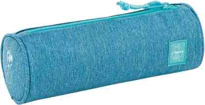 Lässig Schlampermäppchen, »4Kids School Pencil Case, Mélange Blue«