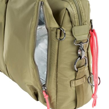 Neckline Lässig Bag Olive« Wickeltasche »green Label Wickelunterlage Pop Mit qYwX8rZY