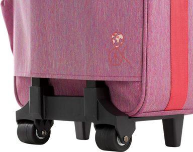 Lässig Kindertrolley  mit 2 Rollen,  Kindertrolley 4Kids Trolley, About Friends Mélange Rosa  online kaufen bf472b
