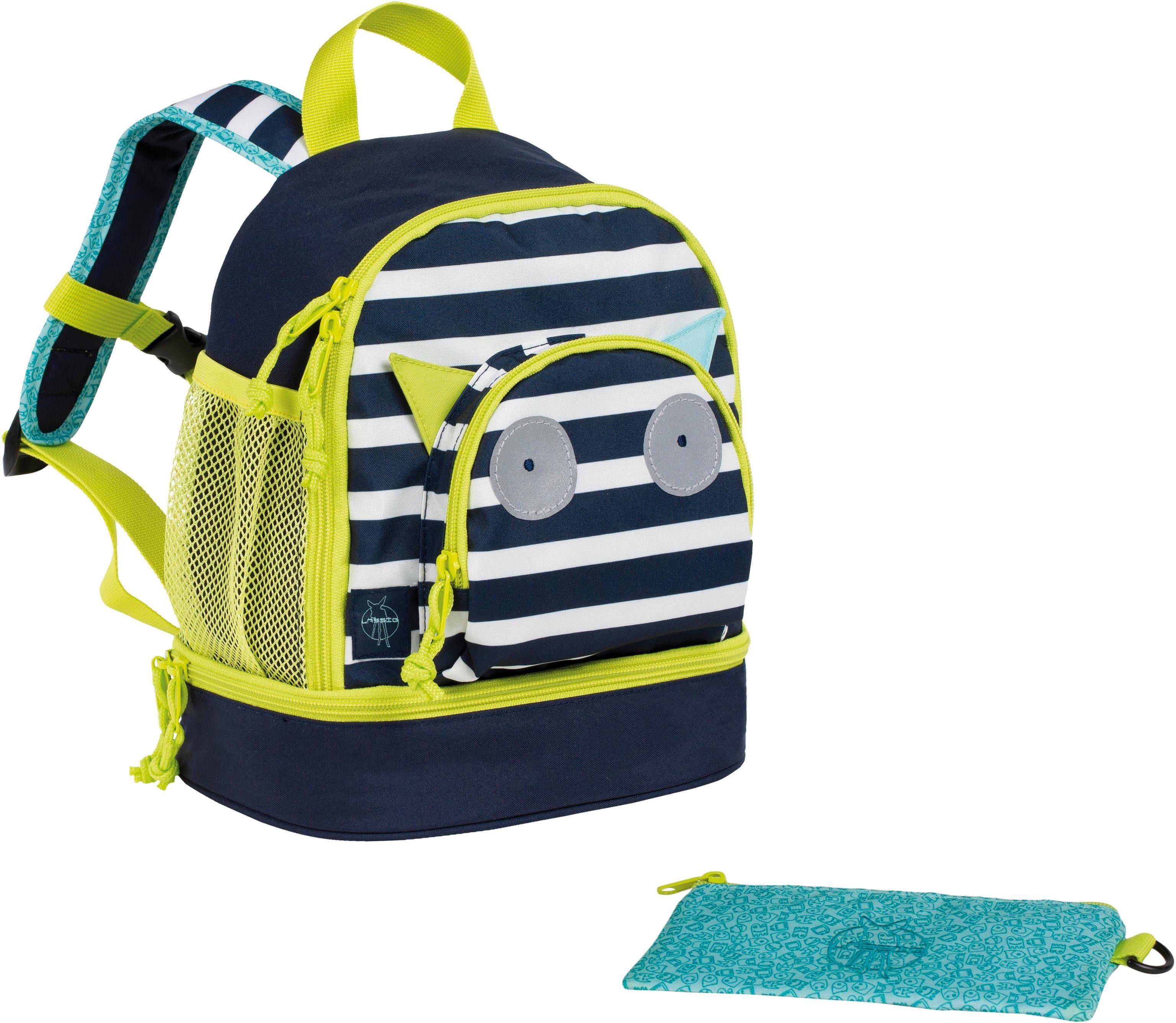 Lässig Kinderrucksack, »4Kids Mini Backpack, Little Monsters Bouncing Bob«