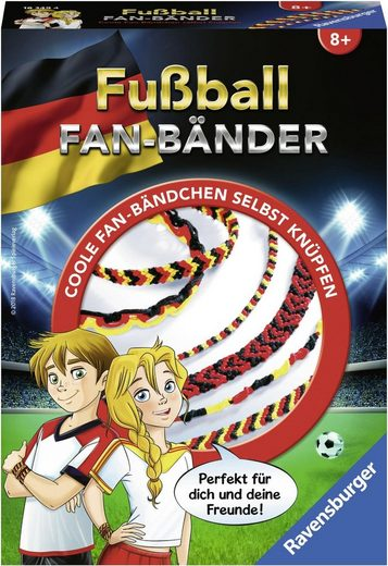 Ravensburger Bastelset, »Fußball Fanbänder«
