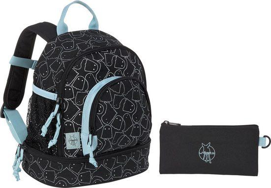 Lässig Kinderrucksack »4Kids Spooky Black, Mini Backpack«