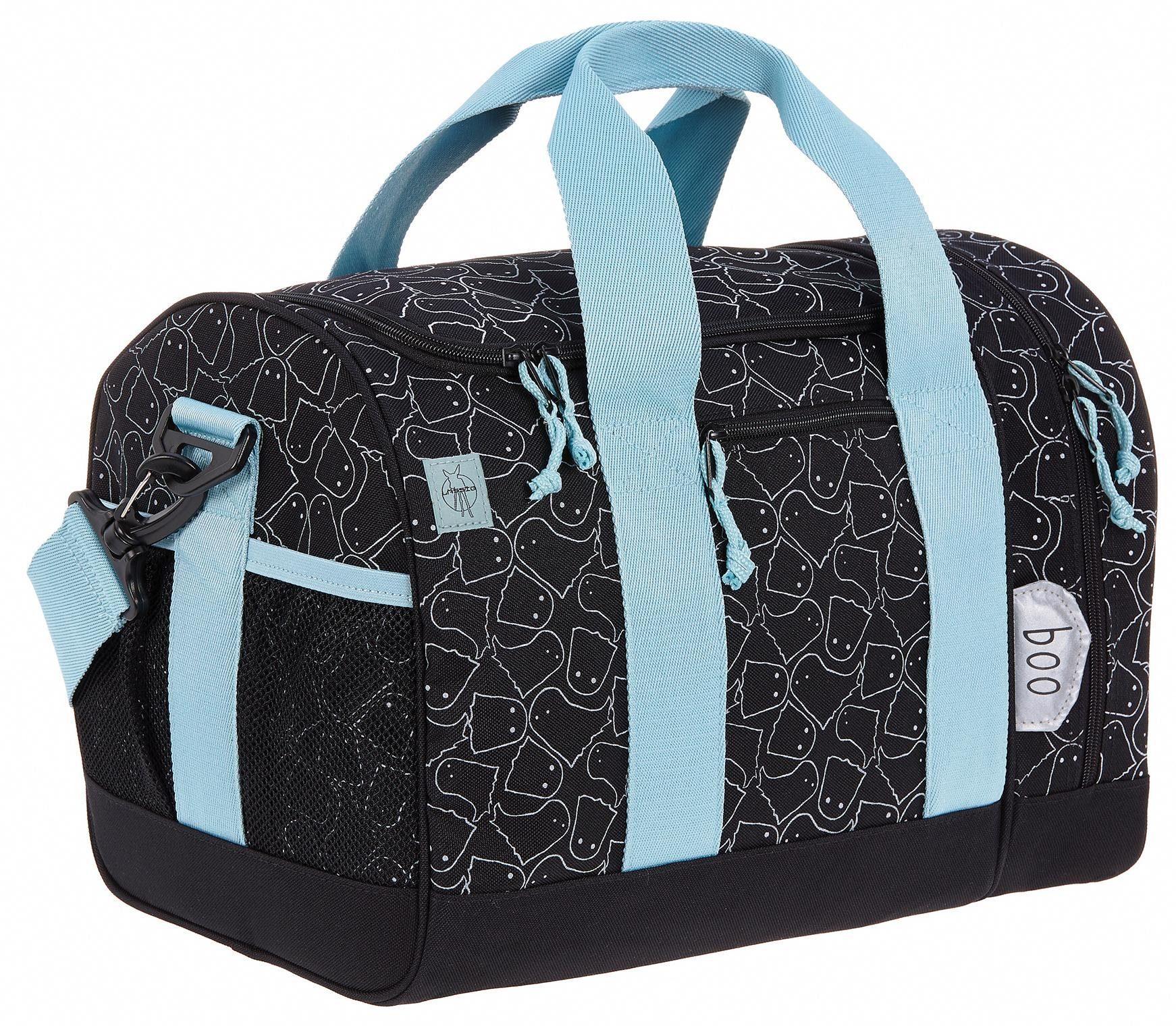 Lässig Sporttasche, »4Kids Mini Sportsbag, Spooky Black«