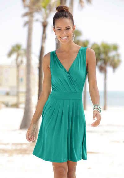 509e7f8b0388 Beachtime Strandkleid mit tiefem V-Ausschnitt