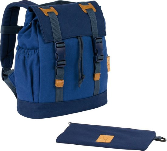 Lässig Kinderrucksack »Vintage Little One & Me Backpack Small, Blue«