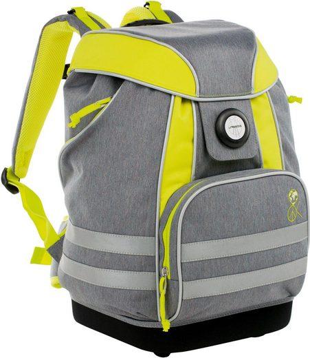 Lässig Schulrucksack »4Kids School Bag, About Friends Mélange Grey«